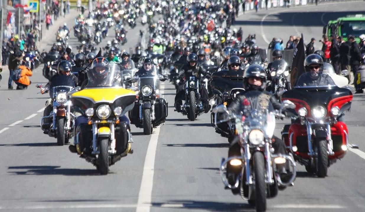 Около 3 тыс. байкеров примут участие вмотопараде в столицеРФ