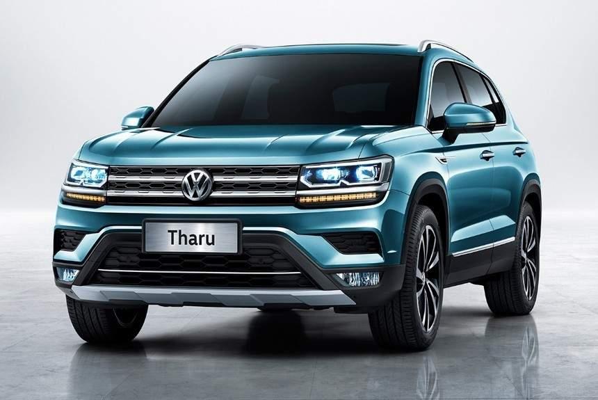 VW обнародовала первые фотографии джипа Tharu