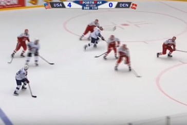 Сборная США нанесла поражение команде Дании на чемпионате мира по хоккею