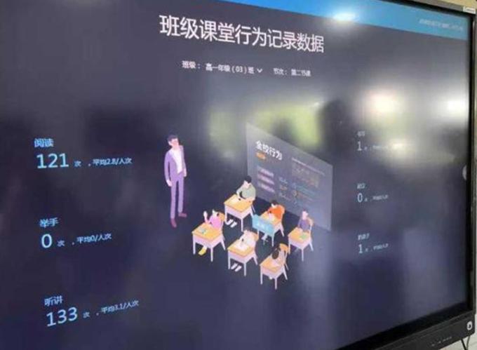 Система распознавания лиц недаст китайским учащимся  отвлекаться