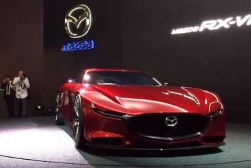 Опубликованы рендеры нового купе Mazda RX-9