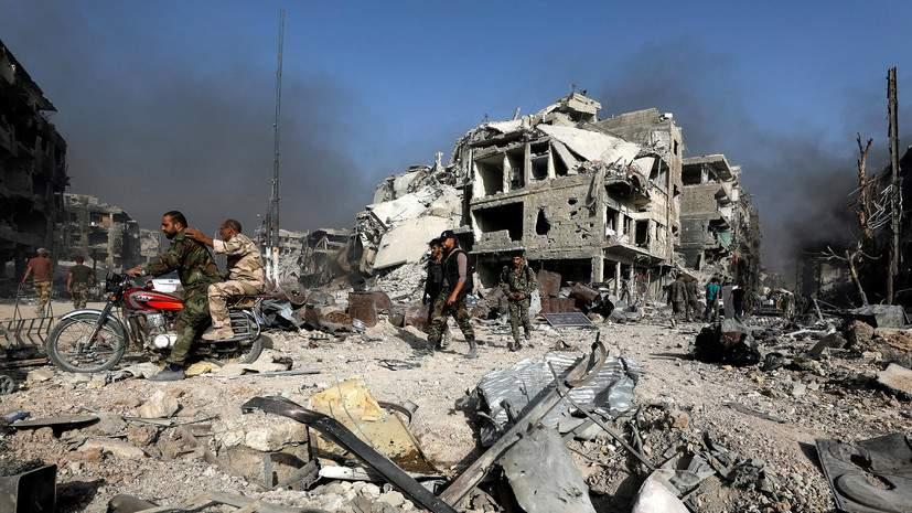 Войска Сирии и ВКС РФ предотвратили прорыв боевиков в направлении Пальмиры