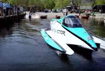 Электрический катер Jaguar поставил новый рекорд скорости на воде