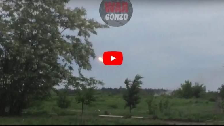 Ракетные войска ДНР уничтожили «Чебурашкой» огневую точку киевских боевиков