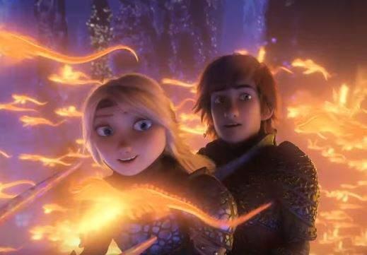 Вышел трейлер 3-й  части мультфильма «Как приручить дракона»