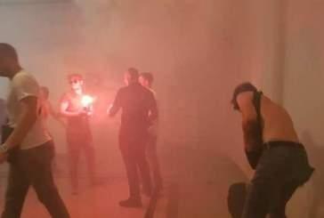 Националисты устроили погром в мэрии Харькова