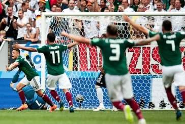 Видео: Сборная Германии сенсационно проиграла команде Мексики