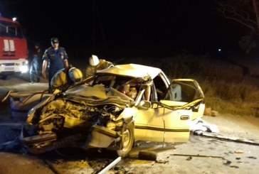 В Крыму пять человек погибли в дорожной аварии с грузовиком и легковушкой