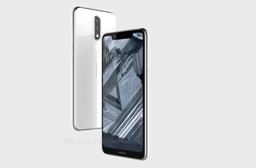 Nokia 5.1 Plus: появились изображения смартфона с козырьком - Hi-Tech Mail.Ru