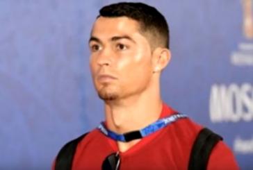 Роналду собирается носить козлиную бородку до конца ЧМ-2018