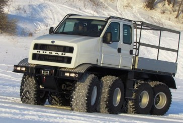 В Нижнем Новгороде разработан вездеход «Русак-3993» нового поколения