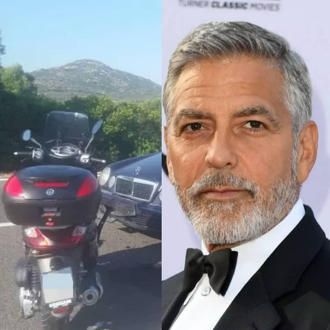 Уполномоченный Джорджа Клуни проинформировал, что артист идет напоправку после ДТП
