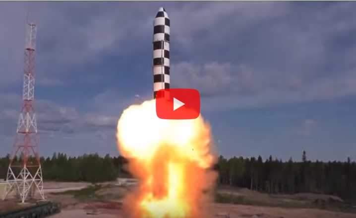 ВМинобороныРФ завершили первый этап проверок ракеты «Сармат»