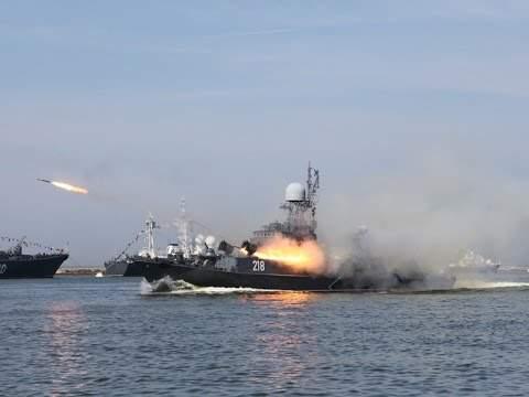 Парад вчесть Дня ВМФ прошел воВладивостоке