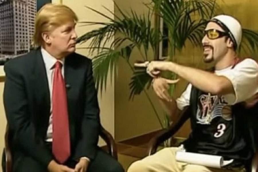 Актер Саша Барон Коэн опубликовал видео сугрозами отТрампа