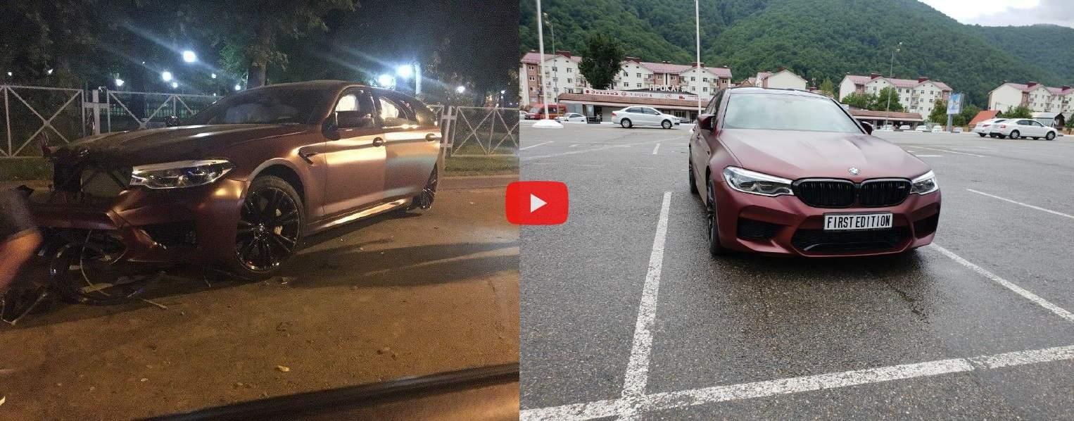 Федор Смолов разбил автомобиль стоимостью 9 млн рублей