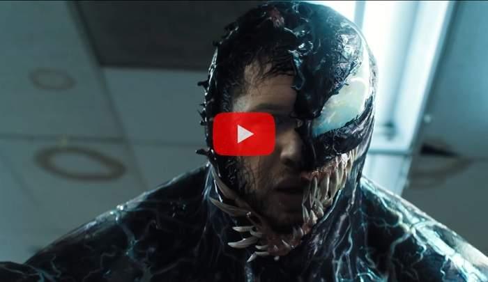 Новый трейлер «Венома»: злобный слизняк паразитирует наТоме Харди