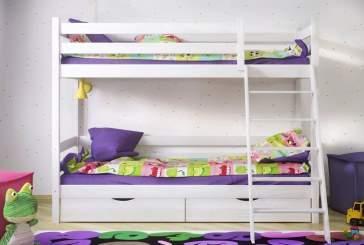 Как выбрать детскую двухъярусную кровать