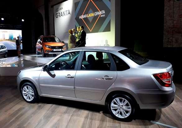 АвтоВАЗ показал обновленное семейство Lada Granta