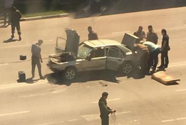 В Чечне двое неизвестных с ножами напали на отдел полиции
