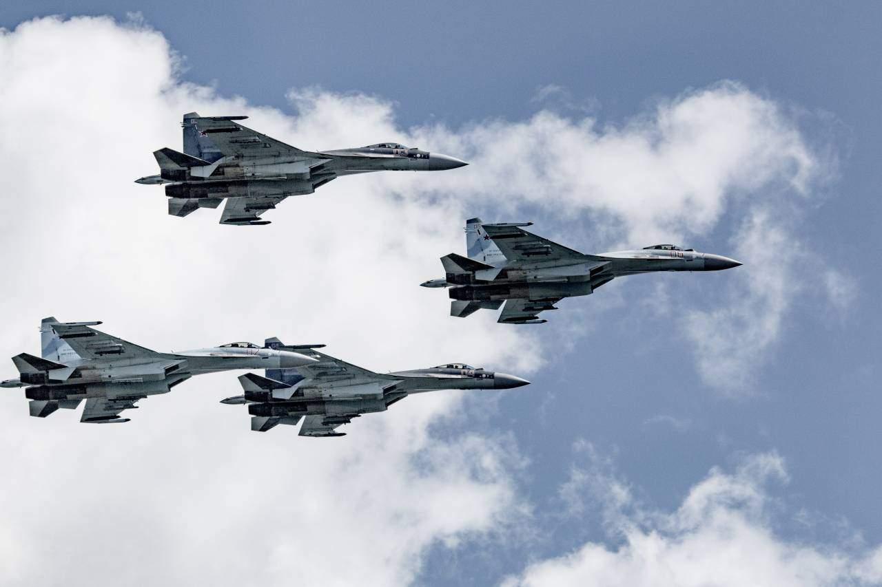 Американские СМИ назвали Су-35 «ночным кошмаром» для ВВС США