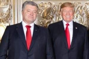 Трамп и Порошенко в одинаковых костюмах рассмешили пользователей Сети
