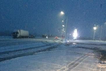 В Кемеровской области выпал первый снег из-за резкого перепада температур
