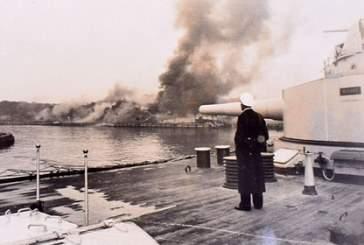 Опубликованы неизвестные ранее фотографии первых залпов Второй мировой войны