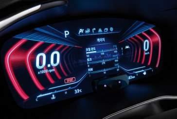 Обновленный Genesis G70 оснастили трехмерной панелью приборов
