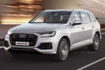 Опубликованы первые фото нового Audi Q7 без камуфляжа