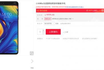 Китайский ритейлер начал продавать Xiaomi Mi Mix 3 до его официального анонса