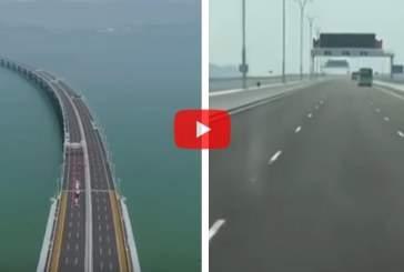 В Китае открыли самый протяженный морской мост на планете
