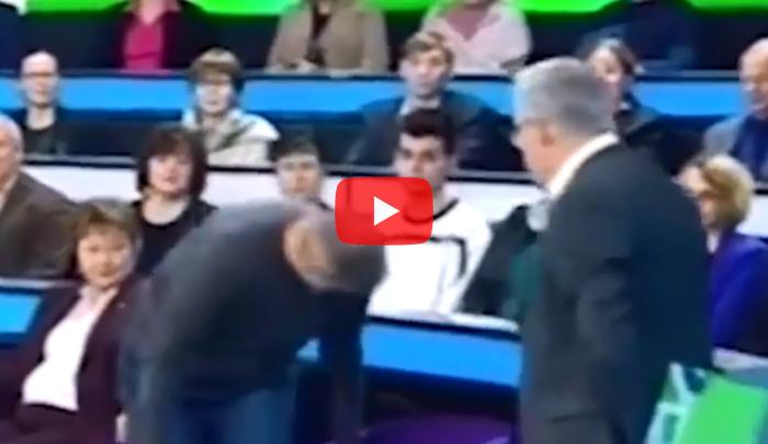Репортера  Александра Никонова выгнали изстудии вовремя прямого эфира наНТВ