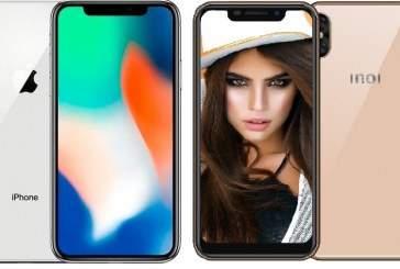В России начались продажи смартфона с вырезом на экране, как у iPhone XS за 7 тыс. рублей