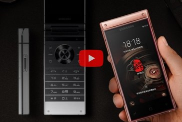 Samsung анонсировала новый смартфон-раскладушку с двумя экранами