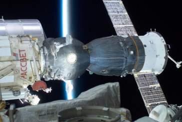 Роскосмос назвал «фейком» версию СМИ о причинах пробоины в отсеке «Союза МС-09»