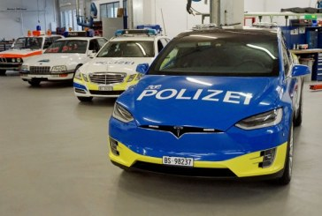Новые полицейские машины Tesla в Швейцарии имеют проблемы с защитой данных