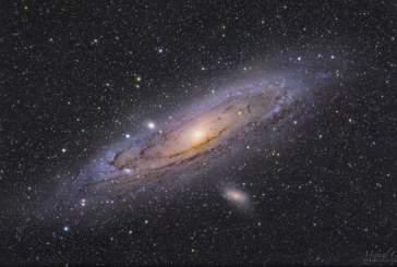 Астрофотограф опубликовал удивительный снимок галактики Андромеда