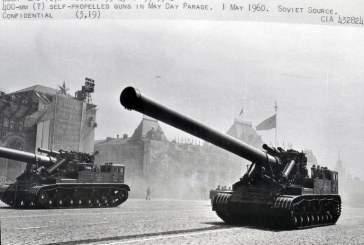 ЦРУ наблюдало за советскими парадами для обнаружения новых военных технологий