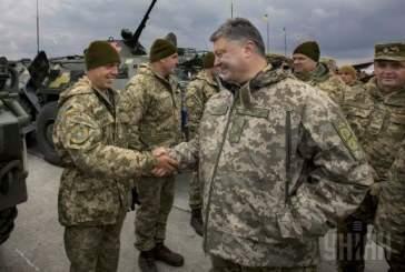 Порошенко назвал войной инцидент в Керченском проливе