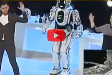 «Россия 24» выдала аниматора в костюме за робота Бориса
