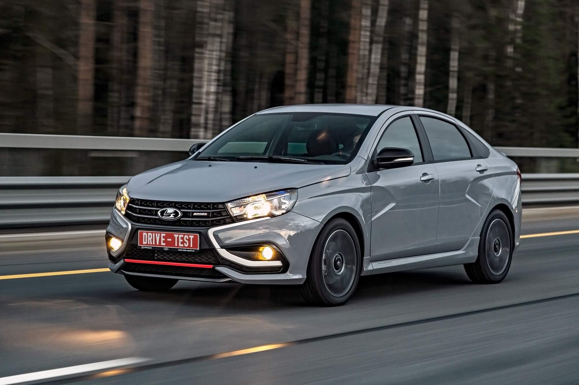 АвтоВАЗ назвал стоимость седана Lada Vesta Sport в 2019 году
