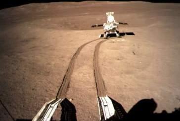 Китайский ровер принялся за изучение обратной стороны Луны