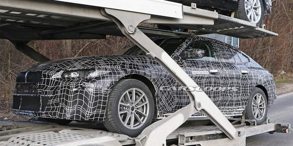 Опубликованы первые фото 'убийцы' Tesla Model S от BMW