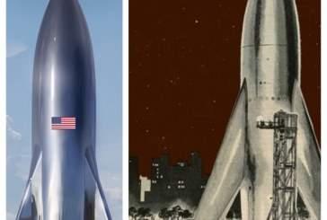 Маск опубликовал первое изображение космического корабля Starship