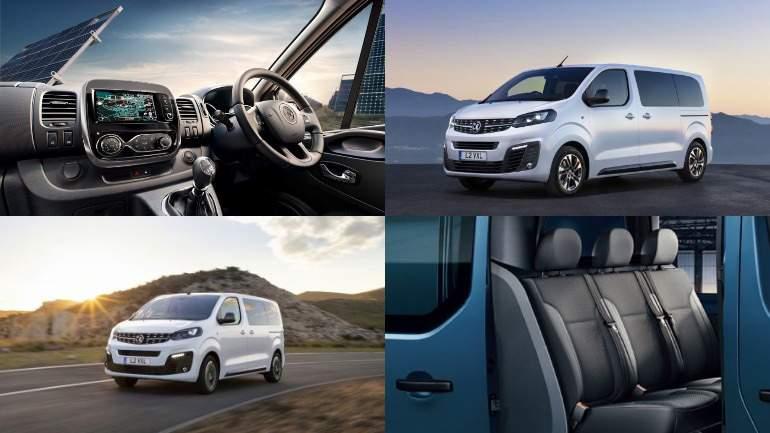 Рассекречен новый девятиместный минивэн Opel Vivaro