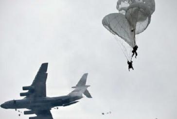Погибшие после столкновения двух Су-34 пилоты запутались в парашютах