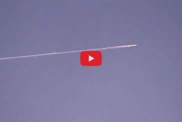 Жители Новой Зеландии запечатлели на видео загадочный объект в небе