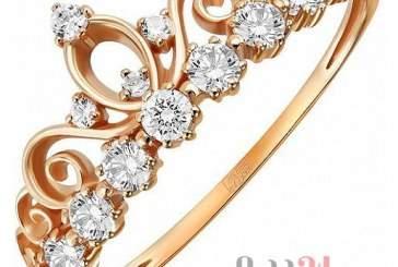 Женское кольцо из золота с кубическим цирконием – доступная роскошь
