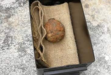В партии картофеля из Франции обнаружена граната времен Первой мировой войны